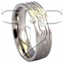 Celtic Ring | Stainless Steel Celtic Knot Ring Size 6, 7.5, 8, 9 | Celtic Band
