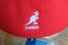 Mens  Classic  Kangol  Wool  504  Ivy  Cap  Color  Scarlet  Red