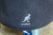 Mens  Classic  Kangol  Wool  504  Ivy  Cap  Color  Dark Flannel Grey