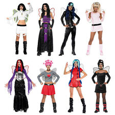 ROCK HARD & SCARY FAIRIES - Halloween Fairy Fancy Dress Costume - Adult Assorted