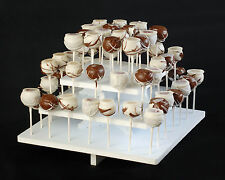 Cake Pop Stand - 3 Tier -  Round, Square, or Petal