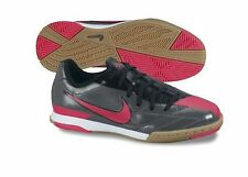 Nike TOTAL 90 SHOOT IV IC INDOOR 2012 SOCCER SHOES RED/NAVY/NEON NEW KIDS YOUTH