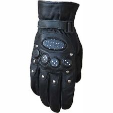 New High Quality Motorcycle Men's Lamb Leather Gloves 03