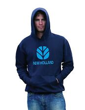NEW HOLLAND 7030 8040 DELTA TRACTOR HEAVYWEIGHT HOODIE SWEAT ALL SIZES S - XXL