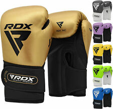 Authentic RDX Leather Gel MMA Grappling Gloves Fight Boxing UFC Punch Bag Shorts