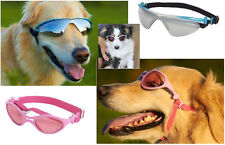 RUBBER K9 OPTIX Dog Sunglasses AUTHENTIC DOGGLES - ALL SIZES - UV Eye Protection