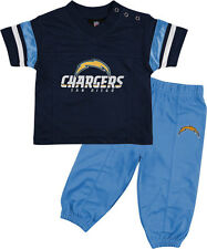 SAN DIEGO CHARGERS INFANT OR TODDLER FOOTBALL JERSEY AND PANT SET