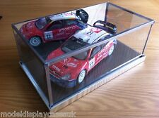1:18 RACING SALOON - MINICHAMPS - LEMANS GMP - KYOSHO - GLASS DISPLAY CASE ONLY