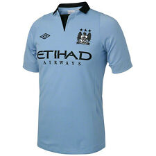 Umbro Manchester City 2012-2013 Home Soccer Jersey Brand New Sky Blue