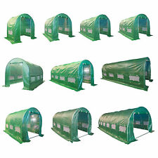Fully Galvanised Steel Frame Polytunnel Greenhouse Pollytunnel Poly Tunnel New