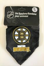 NEW BOSTON BRUINS PET DOG HOCKEY JERSEY MESH BANDANA ALL SIZES LICENSED