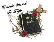 Custom Made T Shirt Holy Bible Guide Book To Life Cross Crown Thorns Christian