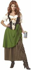 Sexy Womens Medieval Tavern Bar Wench Maid Costume