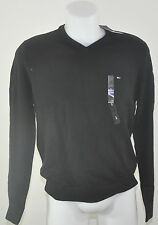 Tommy HOMME PULL NEUF 100% Coton NOIR COLV tailles S M L XL XXL dispos 2014