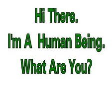 Custom Made T Shirt Hi There I'm Human Being What Are You Alien Humor Funny