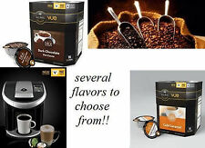 80 count VUE only CAFE Escapes Bulk Lot KEURIG Single cup Coffee pods 5 boxes