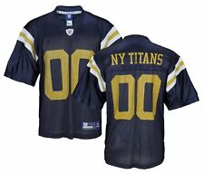 Reebok NFL Football Mens New York Titans New York Jets Team Replica Jersey