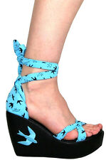 TOO FAST FLYING HIGH SWALLOWS WOMEN WEDGE  US SIZES