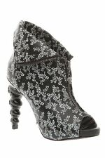 TOO FAST THICK HEADED DITSY BOOTIE HEELS WOMEN US SIZES