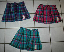 New Girls GARANIMALS Plaid Pleated Woven Skort ~Var Colors~ Inf & Tod Sizes