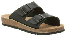 WOMENS BIRKENSTOCK RELAX 200 LEATHER LOOK MOULDED FOOTBED SANDALS SHOES SIZE 3-8