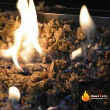 GAS FIRE REPLACEMENT COAL GLOWING EMBERS GAS FIRE COAL BASE MICAFIL VERMICULITE