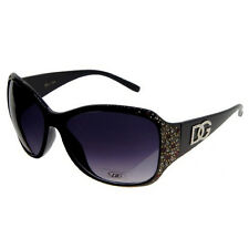 DG EyeWear Women's Designer Rhinestone Sunglasses in 5 Colors