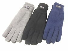Ladies Womens Winter Thermal Thinsulate Knitted Gloves