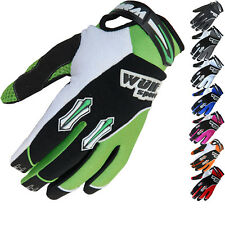 WULF STRATOS CUB KIDS JUNIOR CHILDRENS YOUTH MX QUAD WULFSPORT MOTOCROSS GLOVES