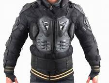 Black Adult Body Armor Jacket Motorcycle Guard Chest Protector S M L XL XXL XXXL