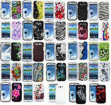 New Deluxe Bling Hard Cover Snap On Case Skin For Samsung Galaxy S3 S III i9300