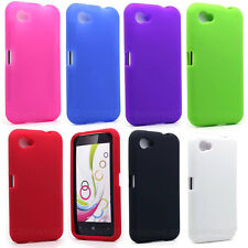 For HTC First AT&T Facebook Phone Soft Silicone Gel Skin Case Cover Accessory