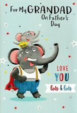 cute funny open GRANDAD father's day card fathers - 21 x cards to choose from!