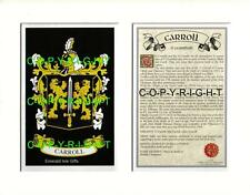 CANTWELL to CASHMAN - Your Family Coat of Arms Crest & History