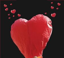 10/20/30 Chinese Sky Lanterns Fly Floating Lamp Wish Party Wedding Heart Design