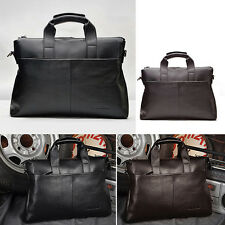 Fashion Men's Real Leather AR158 Tote Bags Shoulder Bags Good Quality Briefcases