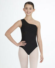 New Capezio One Shoulder Dance Leotard Beautiful 9877 3 Color Choice Great Price