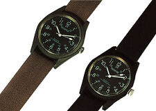 watch military style field swat quartz black olive drab khaki rothco 4105 4104