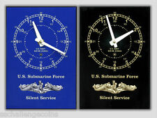 Submarine Force Desk Clock Chelsea USS US Sub SSBN SSN SS New
