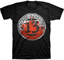 AUTHENTIC BLACK SABBATH CIRCLE 13 THIRTEEN OZZY METAL MUSIC T SHIRT S M L XL 2XL