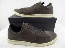 Converse John Varvatos Pro Leather Oxford Shoe Suede Sneaker DARK GREY 125428C