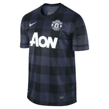 Nike Manchester United Season 2013-2014 Away Soccer Jersey Brand New Navy Blue