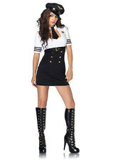 Adult Sexy Pilot First Class Captain Airline Costume Halloween