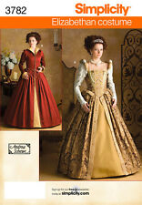Simplicity Sewing Pattern 3782 - Misses Costumes - Choice of Sizes