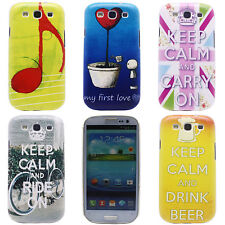 New Heart Image Hard Back Cell Phone Case Cover Skin for Samsung Galaxy S3 i9300