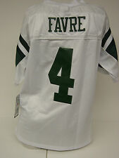 NEW Kids Youth REEBOK Brett FAVRE #4 NY JETS White Stitched NFL Football Jersey