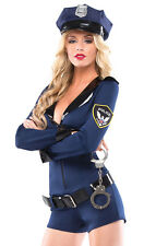 Sexy Womens Cop Police Officer Halloween Costume