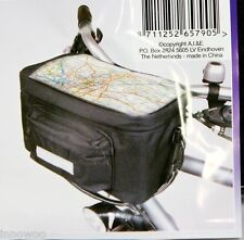 NEW Bicycle Handlebar bag Bike Cycle Front Pannier Including Map Holder