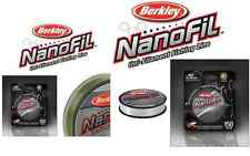Berkley Nanofil Spinning Line - 150 Yard Spool, Assorted Tests and Colors