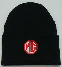MG MGTC MGTD MGTF MGA MGB MGBGT MIDGET EMBROIDERED BEANIE CAP HAT VARIOUS COLORS